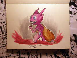 Inktober Day 18: Filthy by Steve-does-art