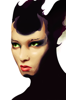 Young Maleficent by Orbit47