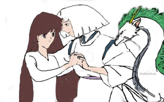 Haku and Annabelle OC Progress. by Fireflyhikari