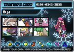 Trainer card for Omega Ruby and Alpha Sapphire by Starryskystorm