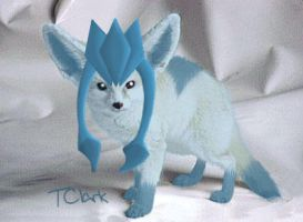Realistic Glaceon by TeaganLouise