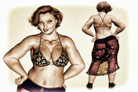 Pinup Number Twenty-Eight by wcpelon
