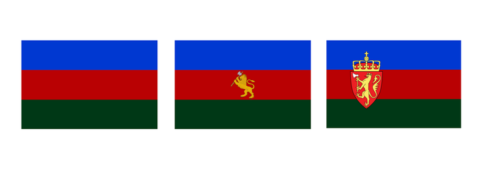 Alternate Flags for Norway by Dom-Bul
