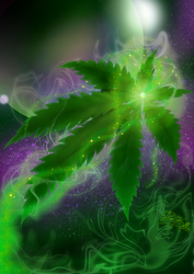 Cosmic Cannabis by TheDeKill