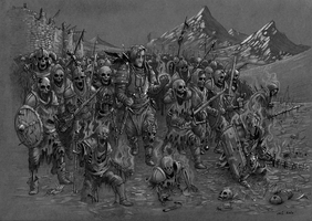 Once Again, We March... by Geldrin