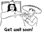 Get well soon by BLANDCorporatio
