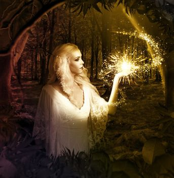 Enchanted Forest Fairy by PsdDude