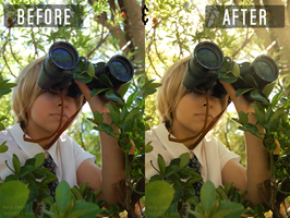 Photo Editing ' Before and After by a-nouki
