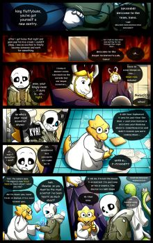 Reminiscence: Undertale Fan Comic Pg. 26 by Smudgeandfrank