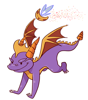 Let's Stream Spyro by TamarinFrog