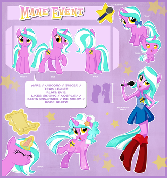 Mane Event Official Reference Guide by Centchi
