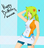HBD Hannah by asentinel