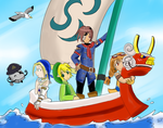 Skies of Wind Waker by Excel-Reverse