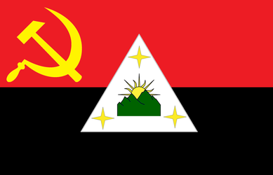 Flag of the Philippine Communist Party by ramones1986