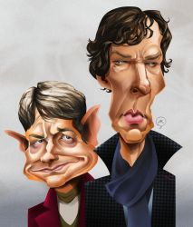 Sherlock and Hobbit by Mitt-Roshin