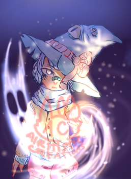Witch Boi (for Kyleechii) by Airitistic-Creations
