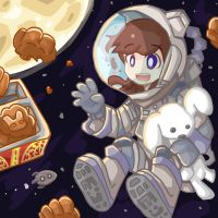 Outer Space Mooncake Festival by catscr123