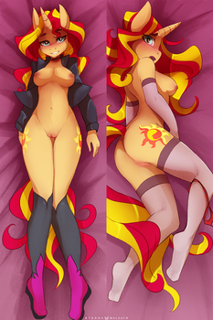 Sunset Shimmer daki by FoxInShadow