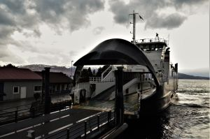 Ferryboat in Sognefjord by Furuhashi335