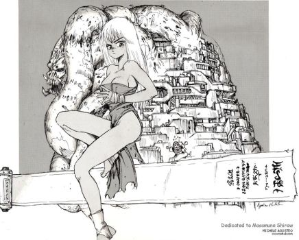 Dedicated to Masamune Shirow by Torbak