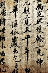 Chinese Calligraphy by dncube