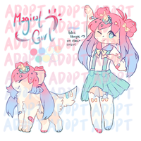 [ closed || auction ] magical girl by binasproutt