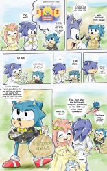 Sonic Got Amy Pregnant Pg 101 by sonicxamy09