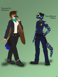 Here Come the Po Po! - References by SilverWingInk