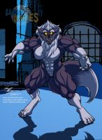 Back Alley Werewolf by LunarDiaries
