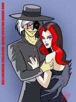 Dark Shadow and Black Widow by Inspector97