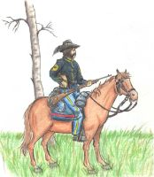 cavalry study no. 3 by EasyCompany101st
