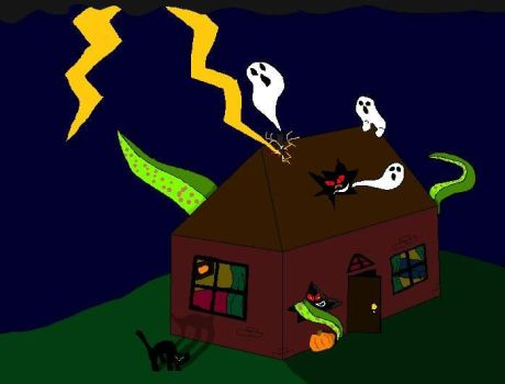 Haunted House by Cheeseburger911