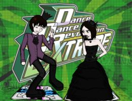 Dance Dance Revolution by Willowwolf23