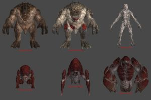 Swarm Creatures (From GoW4) for XPS/XNA! by Jorn-K-Nightmane