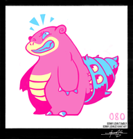 Slowbro!  Pokemon One a Day!