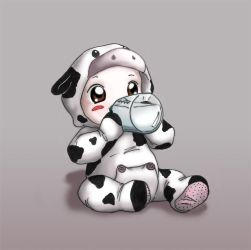 Baby Cow by natale