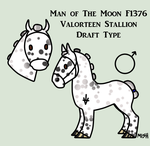 Man Of The Moon F1376 by Spudalyn