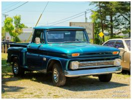 A Cool Blue Chevy Truck by TheMan268