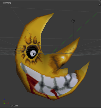 Soul Eater Moon low poly 3d model by ASoulOfVirgoBoy
