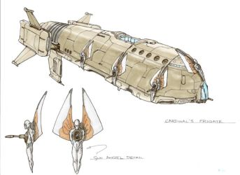 Cardinal's Frigate by Orpheus7