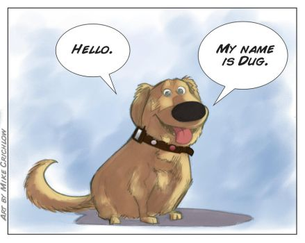 My name is Dug by MichaelCrichlow