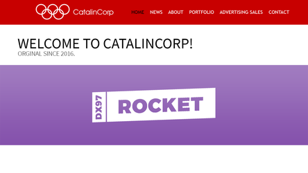 CatalinCorp Rebrand 19 Website: Home by CubenRocks