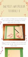 Little Watercolor tutorial by Owlyjules