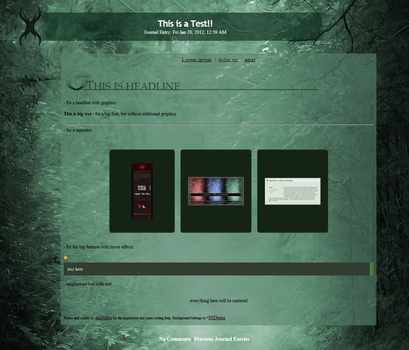 Dark Forest Journal by Sefall