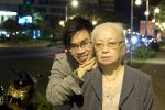 Me and my grandmon by Toshikun