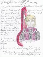Xenoblade Localization Letter by WildcatJF