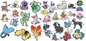 Pokemon Sticker Project Batch 2