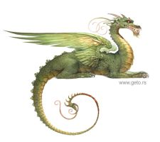 Zmaj - (Dragon) by Boban-Savic-Geto