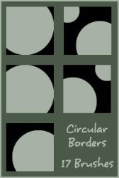 Circular Borders by daughterofsnape