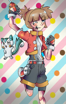 Pokemon Ranger Fanart by lovify1234